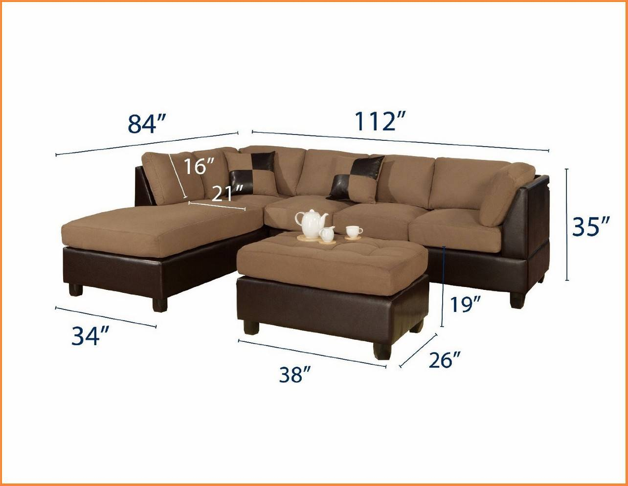 Sectional Sofa Measurements Sofa Beds Design Simple Modern Sectional Sizes Decor For Thesofa