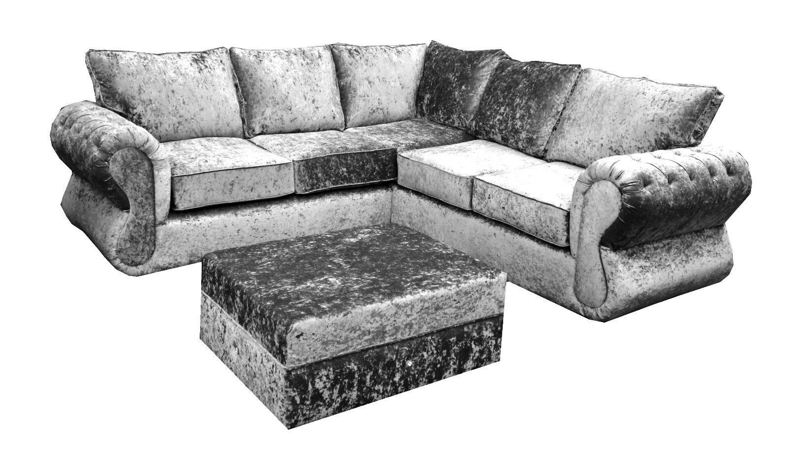 Awesome Silver Velvet Sofa 82 In Sofas and Couches Set with Silver Velvet Sofa