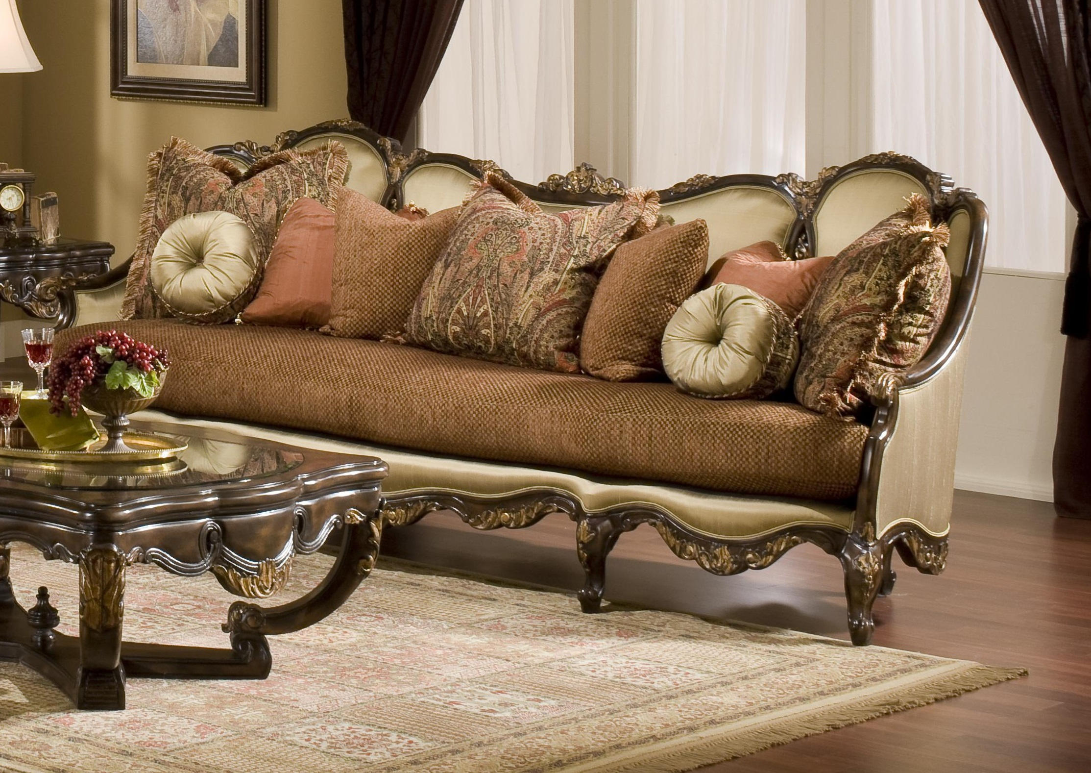 Awesome Wood Trim Sofa 96 About Remodel Sofas and Couches Ideas with Wood Trim Sofa
