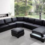 Beautiful Black Sectional Sofa 50 For Your Sofa Room Ideas with Black Sectional Sofa