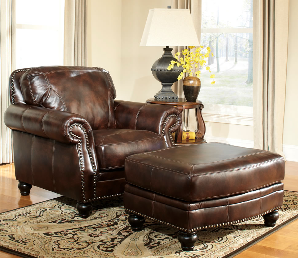 Leather chair and a half - Beautiful Leather Chair And A Half With Ottoman 37 In Modern Sofa Ideas With Leather Chair