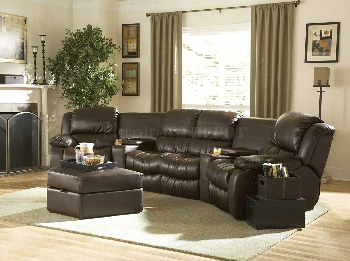 ... Best Leather Sectional Sofa With Recliner 74 With Additional Modern Sofa Inspiration with Leather Sectional Sofa ... : best leather reclining sectional - Sectionals, Sofas & Couches