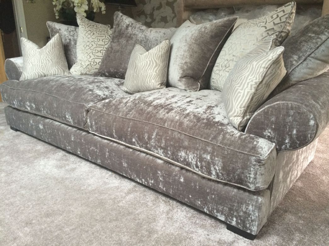 Elegant Silver Velvet Sofa 16 For Your Contemporary Sofa Inspiration with Silver Velvet Sofa