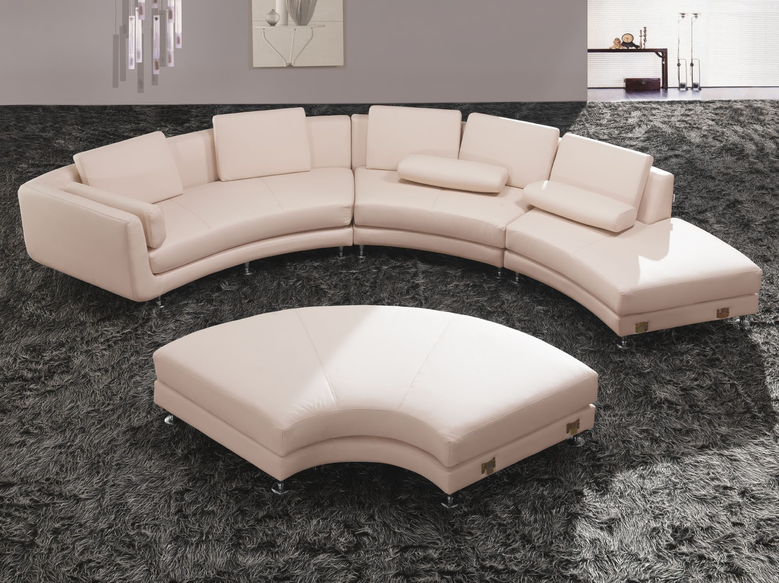 Fancy Curved Sectional Sofa 20 For Sofa Design Ideas with Curved Sectional Sofa