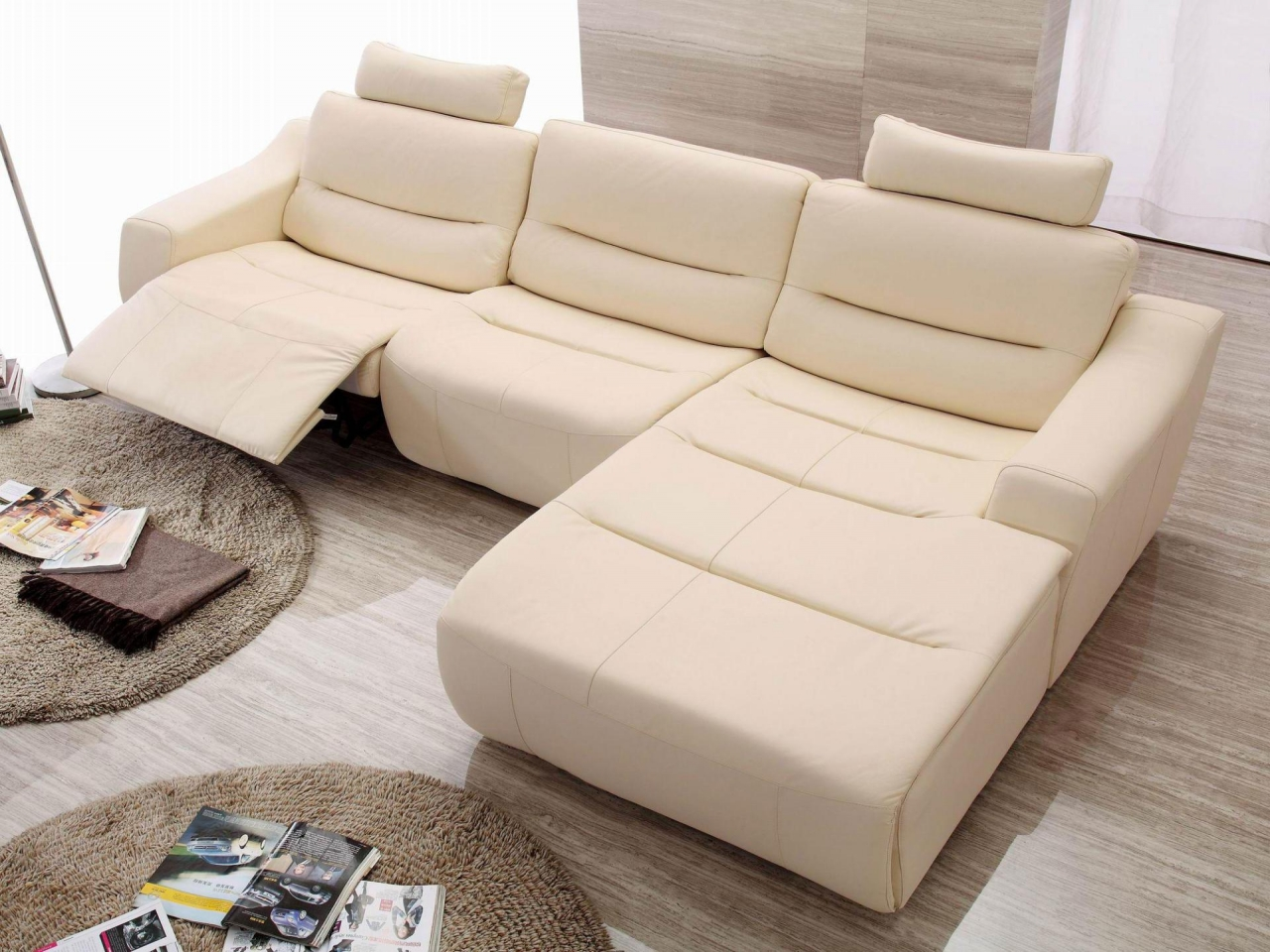 Fancy Reclining Sectional Sofas For Small Spaces 74 For Your Modern Sofa Inspiration with Reclining Sectional Sofas For Small Spaces