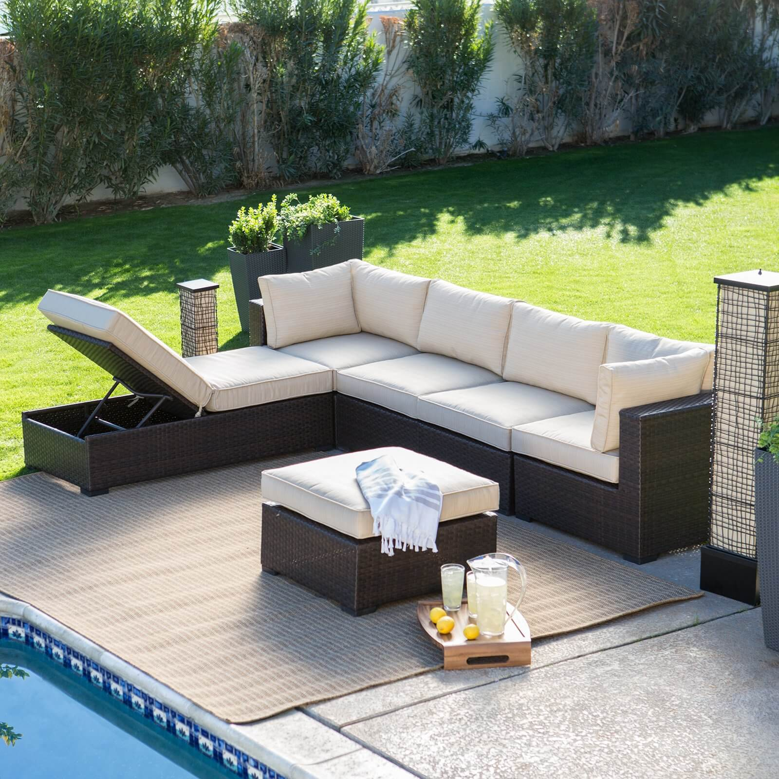 outdoor sofa sectional set good outdoor furniture sectional sofa 39 on living room ideas thesofa