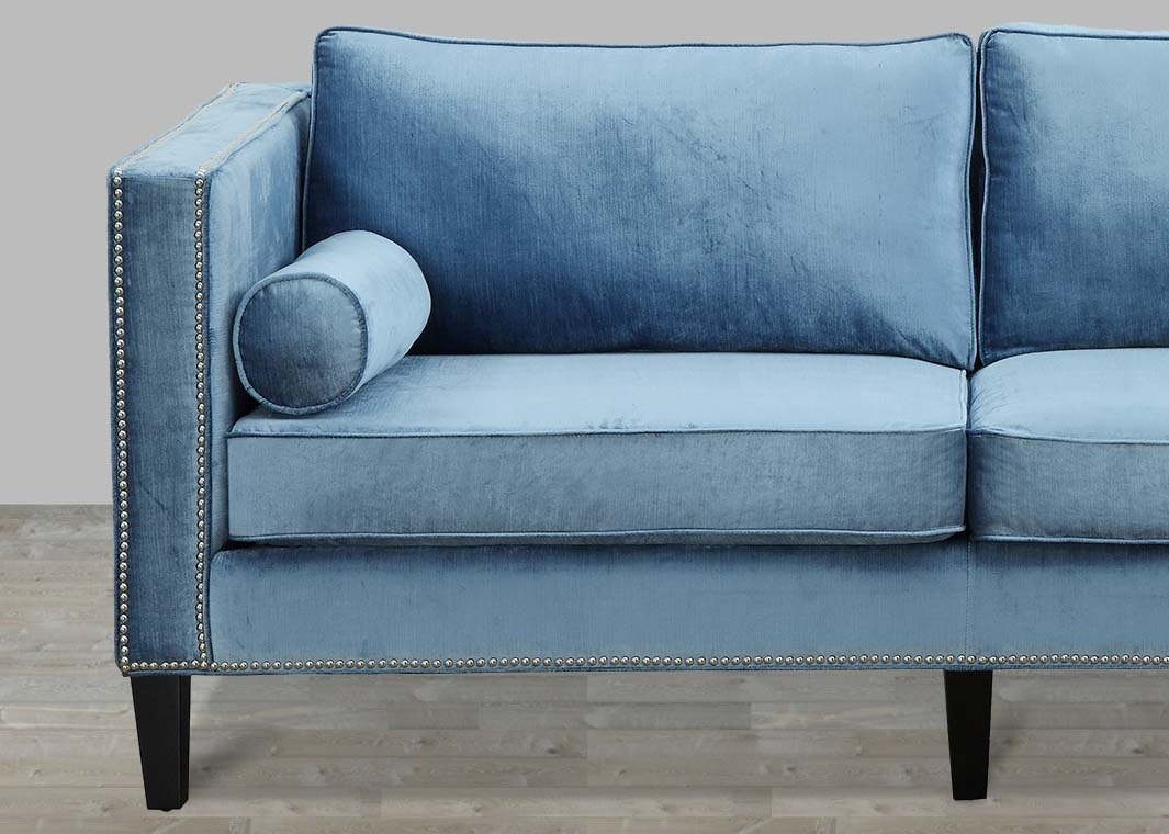 Great Blue Velvet Sofa 94 About Remodel Office Sofa Ideas with Blue Velvet Sofa