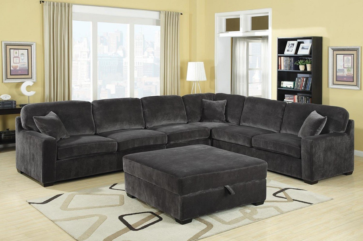Inspirational Large Sectional Sofa With Ottoman 38 For Contemporary