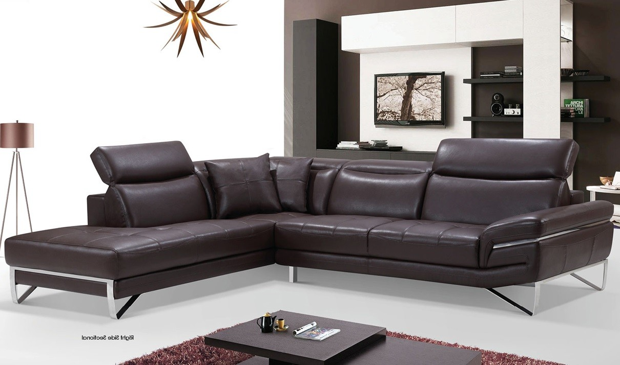 Lovely Leather Sectional Sofa With Chaise 36 For Your Living Room Sofa Inspiration with Leather Sectional Sofa With Chaise