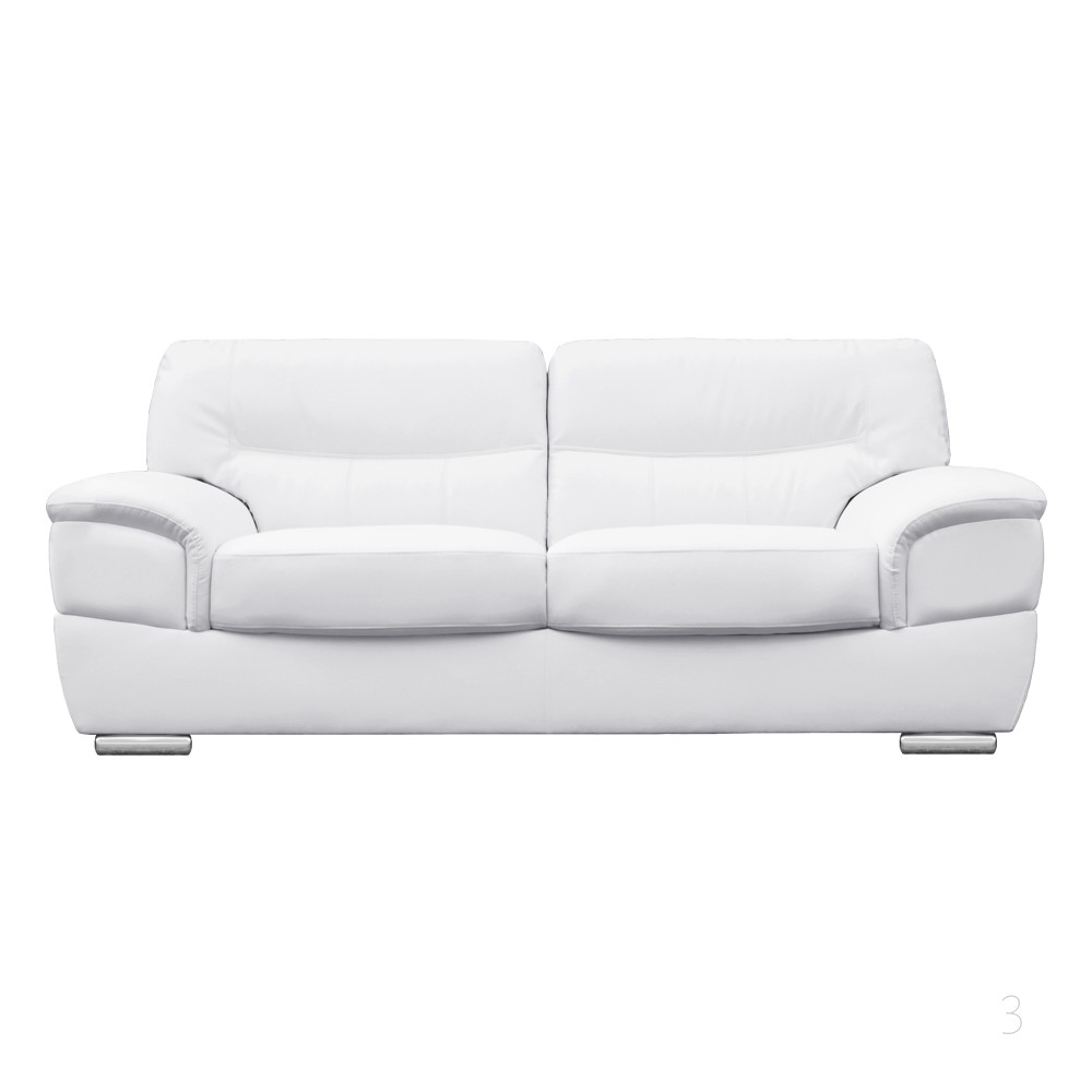 White Sofa Fabric Sofas Modern Contemporary Ikea Thesofa