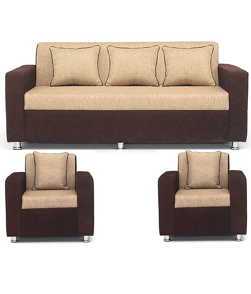 Sofa set in india new style sofa set in india sofa set for Living room ideas with 3 sofas