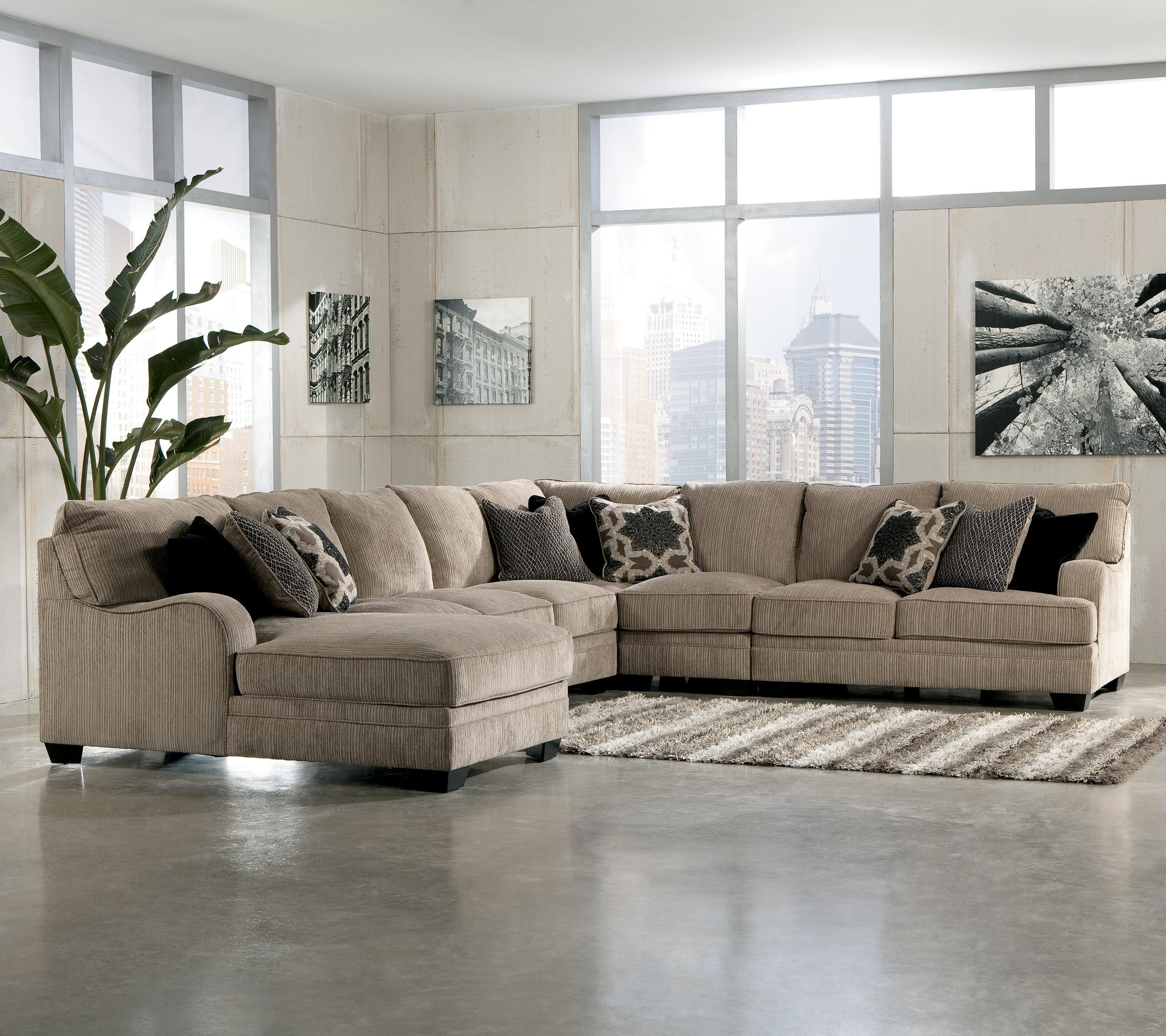 Great 4 Piece Sectional Sofa 83 For Modern Sofa Inspiration With 4  ~ Sectional Sofa With Wedge