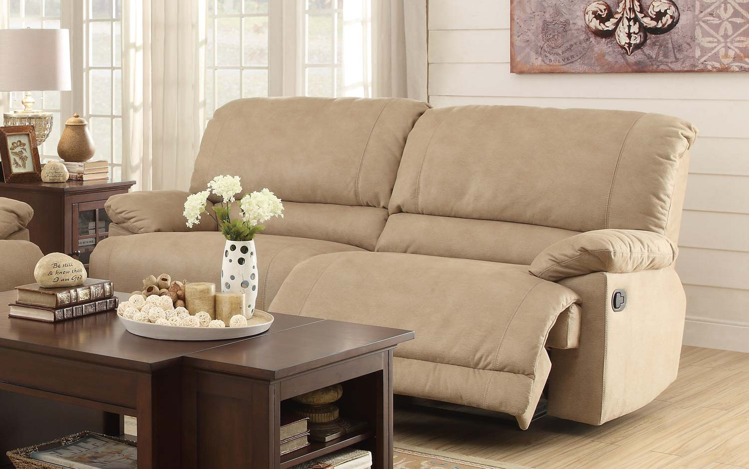 Double sofas great double reclining sofa 34 about remodel for Sectional sofa with double recliner