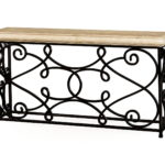 Inspirational Wrought Iron Sofa Table 58 For Your Contemporary Sofa Inspiration with Wrought Iron Sofa Table