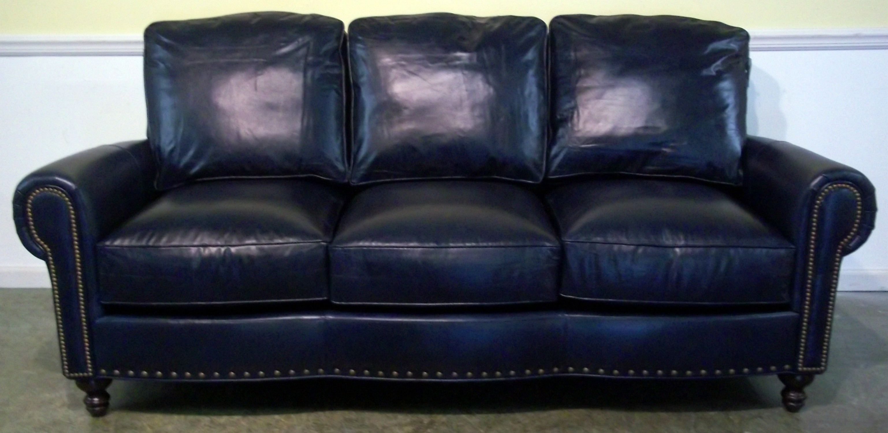 Merveilleux Luxury Navy Blue Leather Sofa 14 For Your Sofas And Couches Ideas With Navy Blue  Leather Sofa
