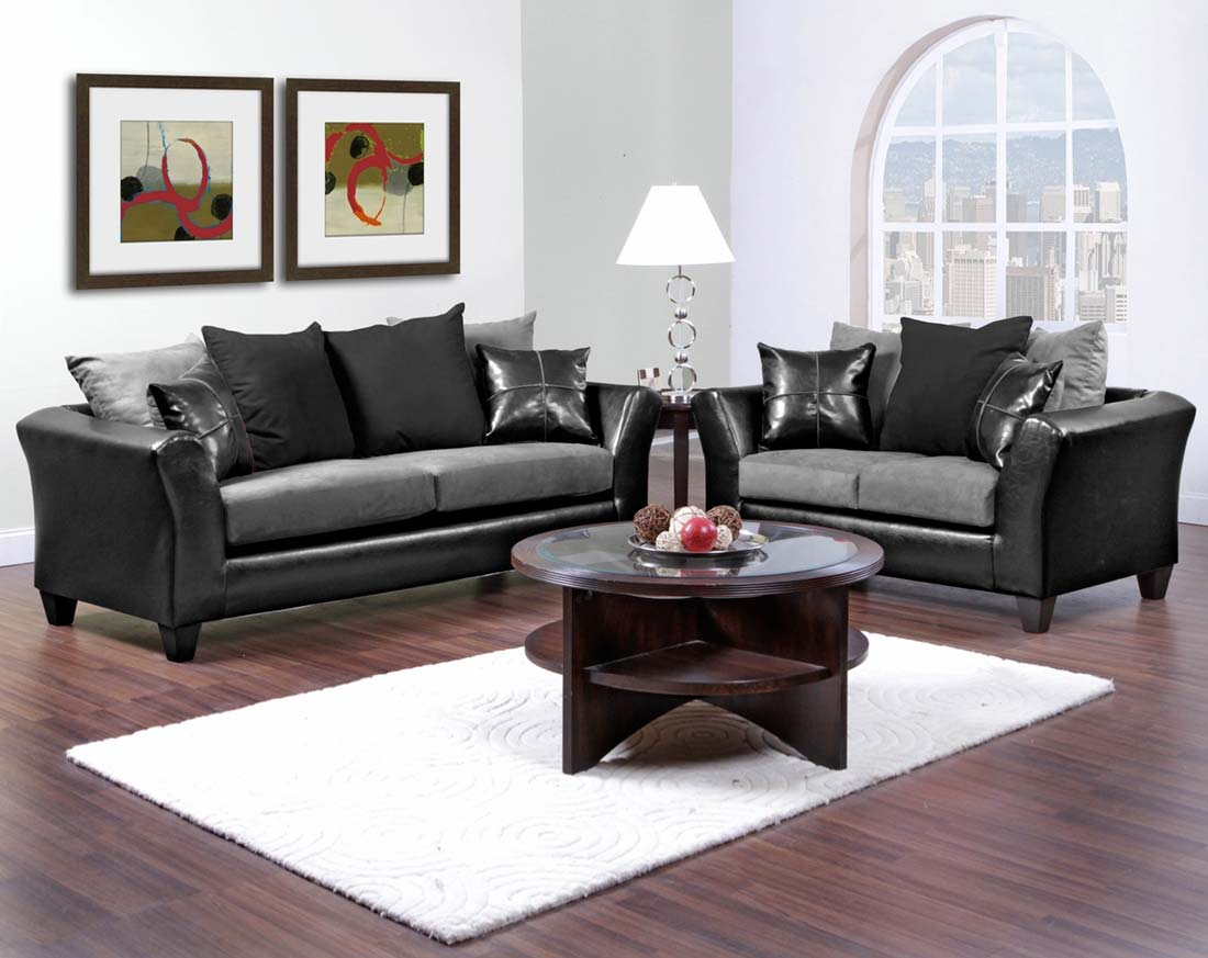 Black and grey sofa perfect contemporary furniture living for Black and grey sofa