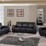 Awesome Black Leather Living Room Furniture 48 For Your Sofa Table Ideas with Black Leather Living Room Furniture
