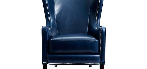 Awesome Navy Leather Chair 49 In Living Room Sofa Inspiration With