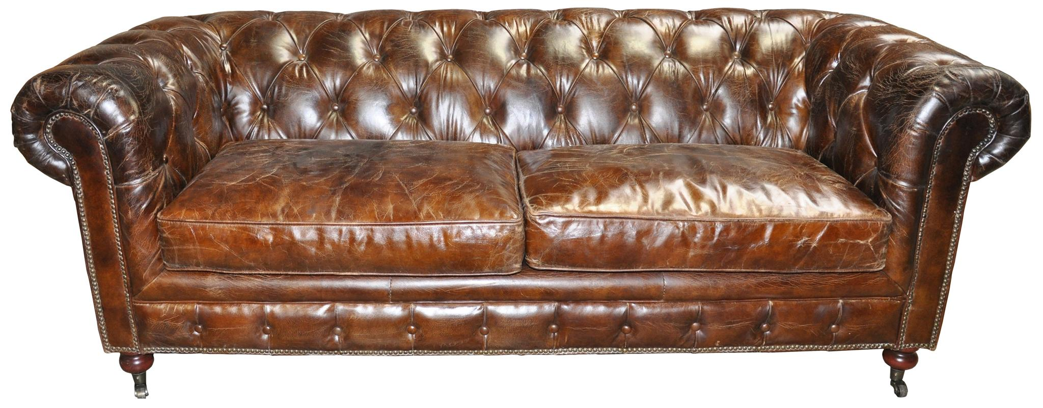 Beautiful Brown Tufted Leather Sofa 61 On Sofa Design Ideas With  ~ Cheap Tufted Leather Sofa