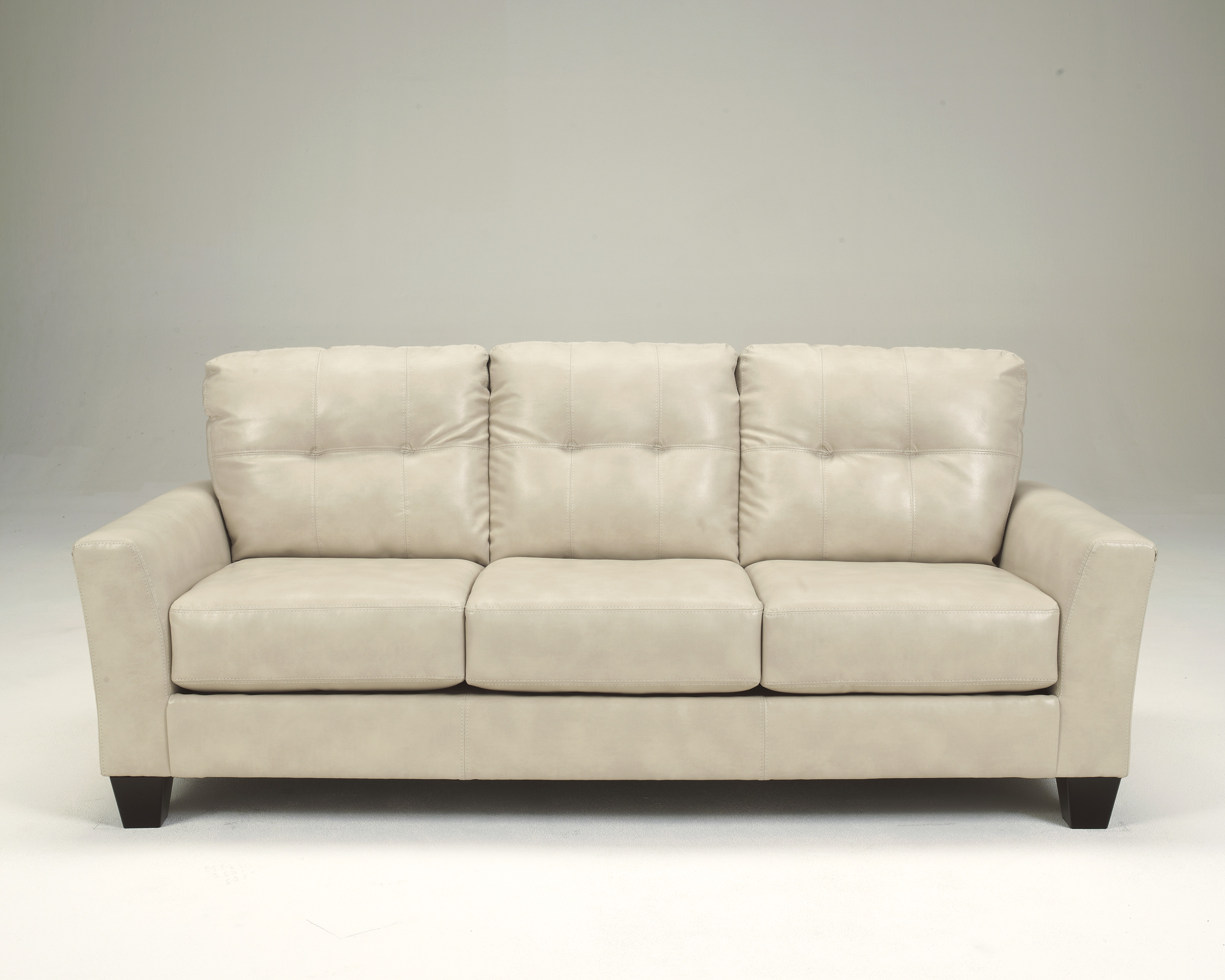 Off white leather sofa lovely white leather sofa set with for White divan chair