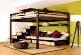 Best Bunk Bed With Couch 85 On Modern Sofa Inspiration with Bunk Bed With Couch