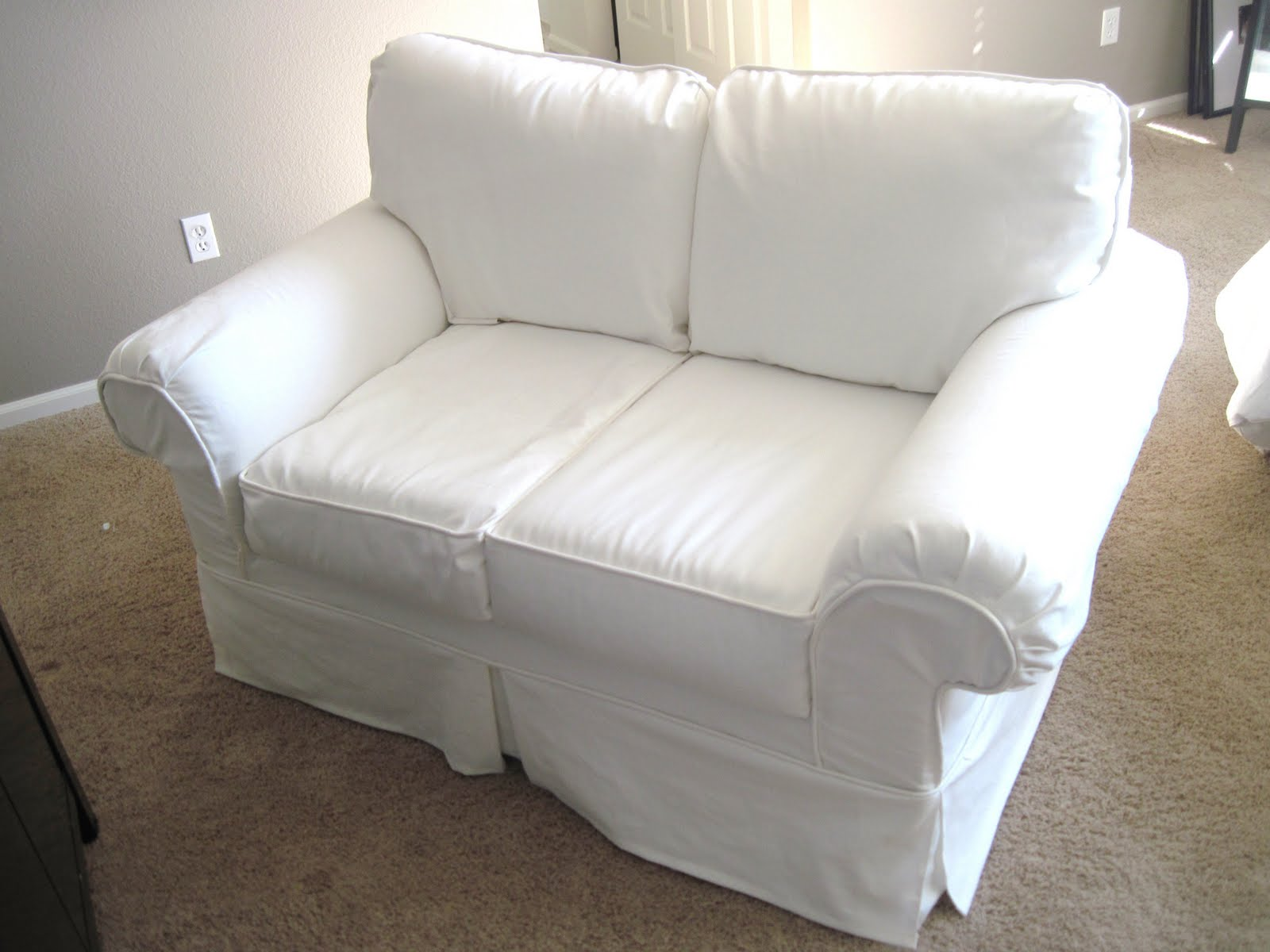 Best White Couch Covers 44 On Sofas And Couches Set With White  ~ Sleeper Sofa Couch Covers