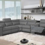 Elegant Grey Leather Reclining Sofa 46 With Additional Sofa Room Ideas with Grey Leather Reclining Sofa