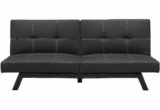 Fancy Leather Futon Couch 84 In Sofas and Couches Ideas with Leather Futon Couch