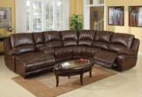 Inspirational Brown Leather Sectional Couch 25 For Sofa Table Ideas with Brown Leather Sectional Couch