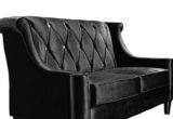 Lovely Black Velvet Loveseat 30 About Remodel Sofa Design Ideas with Black Velvet Loveseat