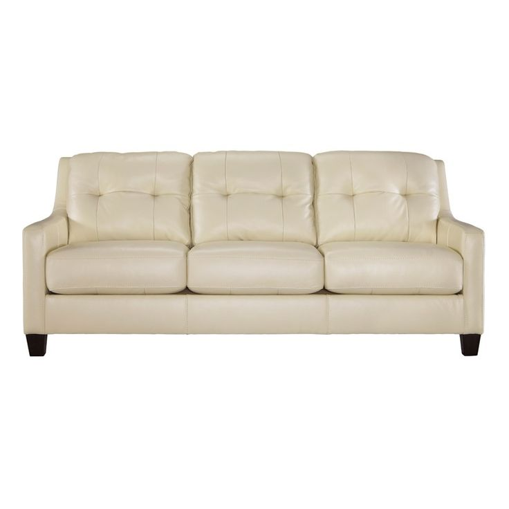 Finest Lovely Cream Colored Leather Sofa 50 For Your Living Room Sofa  XK95