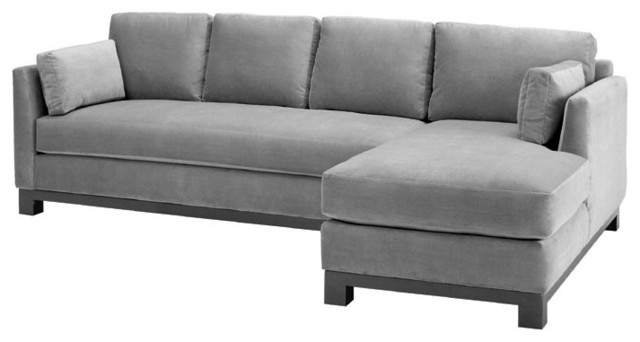 Lovely Gray Couch With Chaise 14 For Your Living Room Sofa Ideas