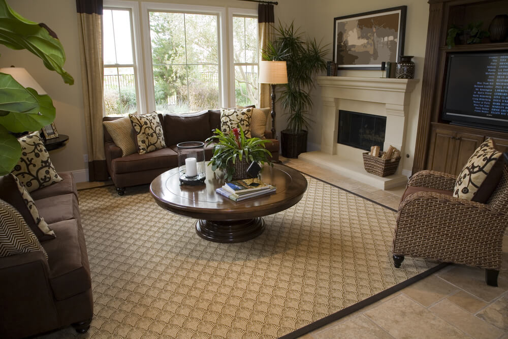 Luxury Dark Brown Living Room 87 With Additional Sofa Table Ideas ...