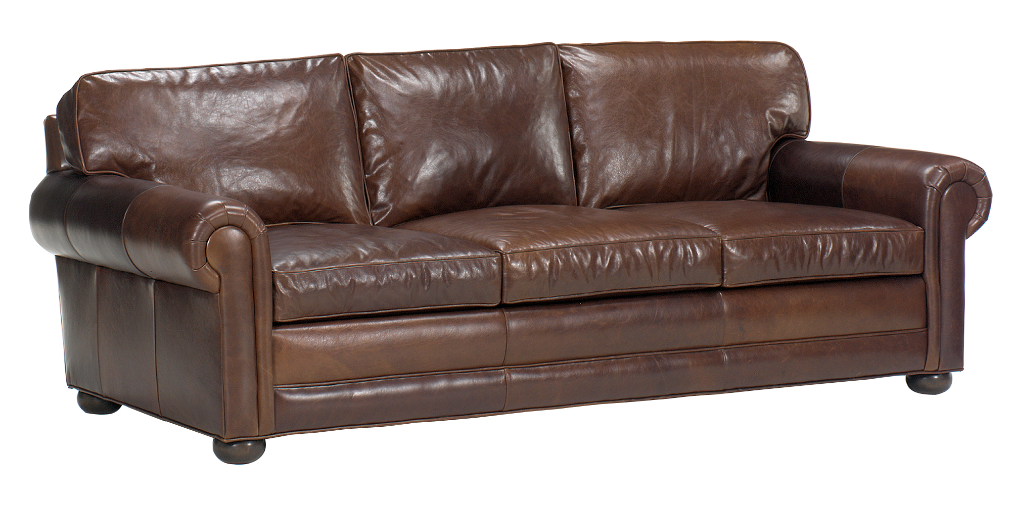 Deep seat leather sofa deep seated leather sofa loccie for Couch und sofa