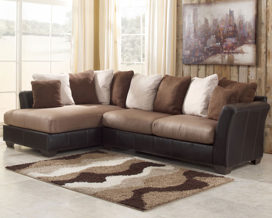 Perfect Ashley Furniture Sectional Couch 68 With Additional Sofa Room Ideas