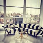 Perfect Black And White Striped Sofa 92 For Your Sofa Room Ideas with Black And White Striped Sofa