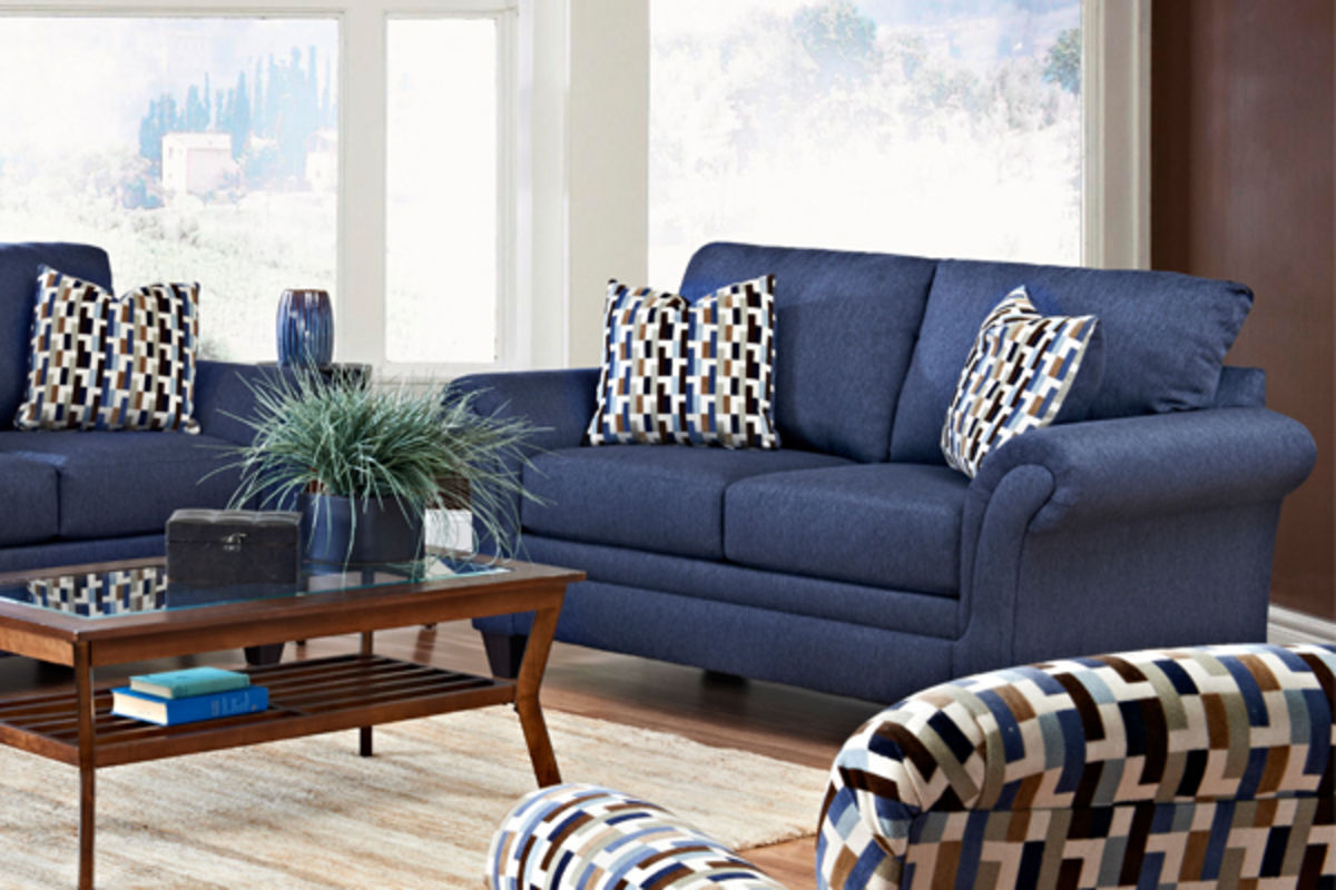Blue living room furniture sets living room for Living room furniture sets