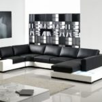 Unique Black And White Sofas 57 On Modern Sofa Ideas with Black And White Sofas