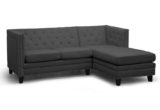 Unique Tufted Grey Sectional 90 On Contemporary Sofa Inspiration with Tufted Grey Sectional