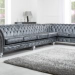 Epic Grey Leather Tufted Sofa 93 For Your Modern Sofa Ideas with Grey Leather Tufted Sofa