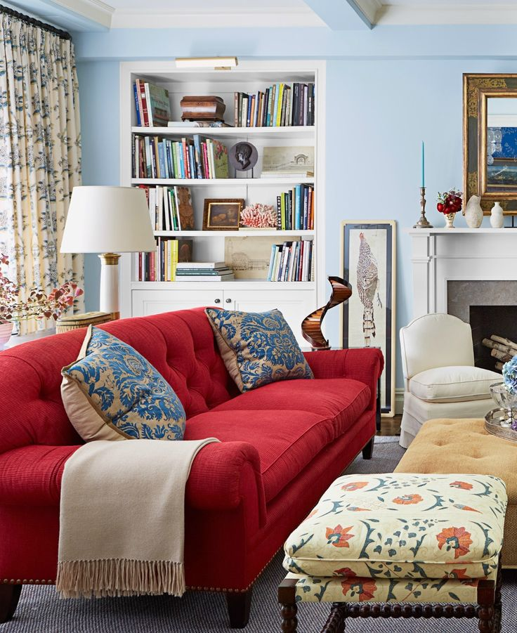 Epic Red Sofa Color Scheme 89 About Remodel Living Room Sofa ...