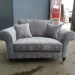 Epic Small Grey Velvet Sofa 51 About Remodel Sofa Table Ideas with Small Grey Velvet Sofa