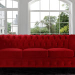 Fancy Large Red Sofa 96 In Contemporary Sofa Inspiration with Large Red Sofa