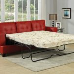 Inspirational Red Leather Sofa Bed 87 In Modern Sofa Ideas with Red Leather Sofa Bed