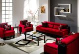 Perfect Red Sofa Living Room Design 34 In Sofa Table Ideas with Red Sofa Living Room Design