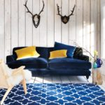 Trend Midnight Blue Velvet Sofa 31 In Sofas and Couches Ideas with Midnight Blue Velvet Sofa