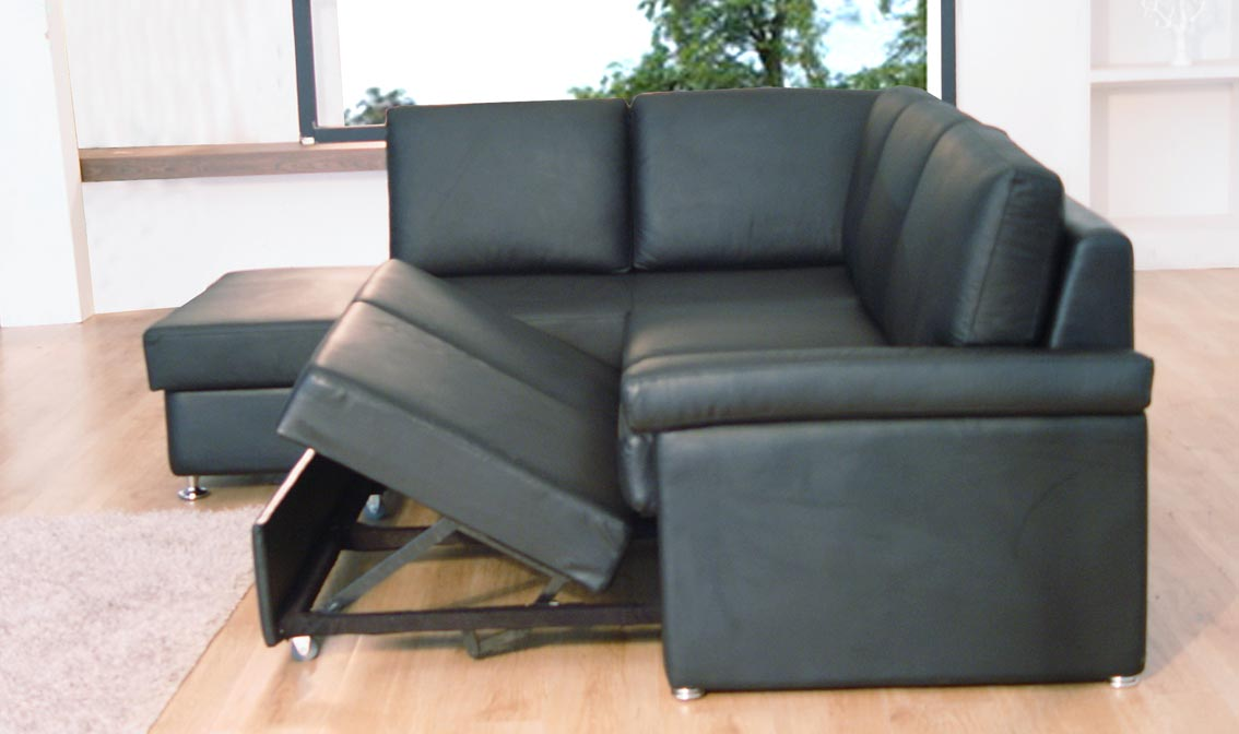 Beautiful Leather Sectional Sleeper Sofa 44 For Your Sofas And Couches Ideas With