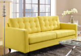 Trend Yellow Sofas 42 In Living Room Sofa Ideas with Yellow Sofas