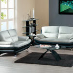 Amazing Grey And Black Leather Sofa 57 For Sofa Design Ideas with Grey And Black Leather Sofa