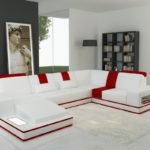Amazing Red And White Leather Sofa 57 For Sofas and Couches Set with Red And White Leather Sofa
